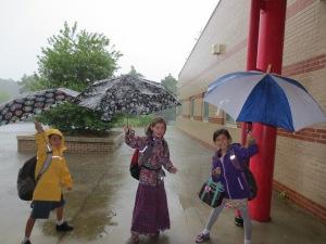 Last day of school, June 7, 2013