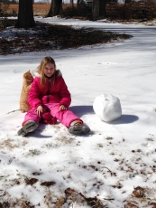 The cat, the falcon, and the snowball . . .so begins a great snow day short story